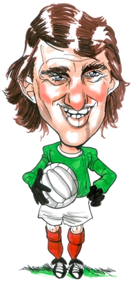 Alex Stepney Caricature