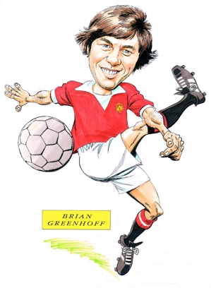 Brian Greenhoff Caricature