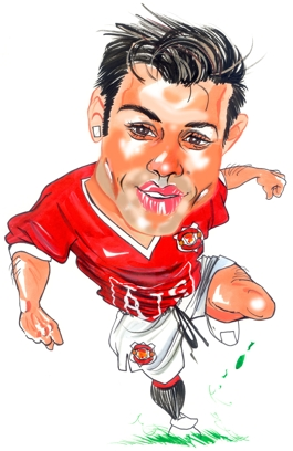 Man United Caricatures