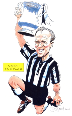 Jimmy Scoular Caricature