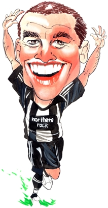 Michael Owen Caricature