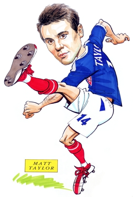 Matt Taylor Caricature