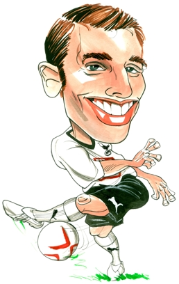 David Bentley Caricature