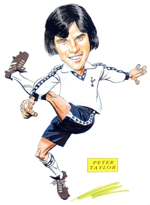 Peter Taylor Caricature