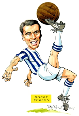 Bobby Robson Caricature