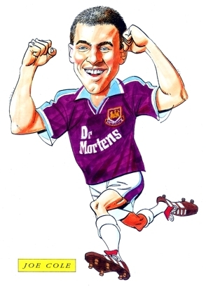 Joe Cole Caricature