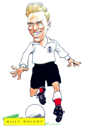 Billy Wright Caricature