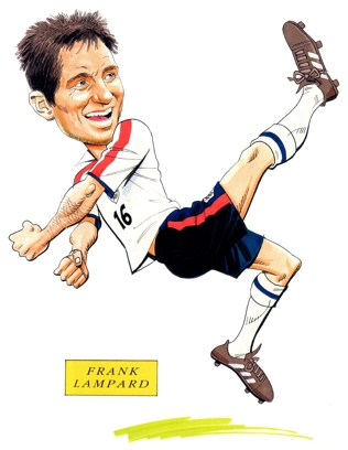 Frank Lampard Caricature