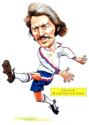 Frank Worthington Caricature