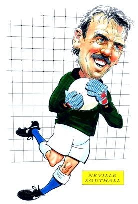 Neville Southall Caricature