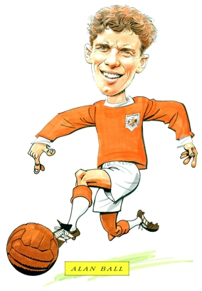 Alan Ball Caricature