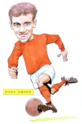 Tony Green Caricature