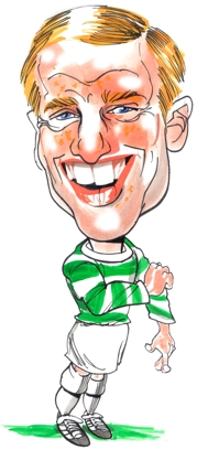 Billy McNeill Caricature