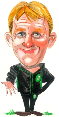 Gordon Strachan Caricature