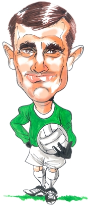 Ronnie Simpson Caricature