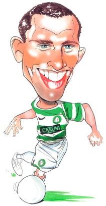 Scott Brown Caricature