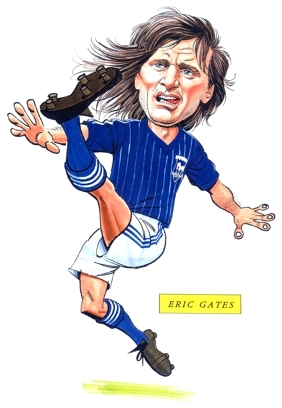 Eric Gates Caricature