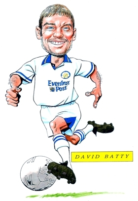 David Batty Caricature