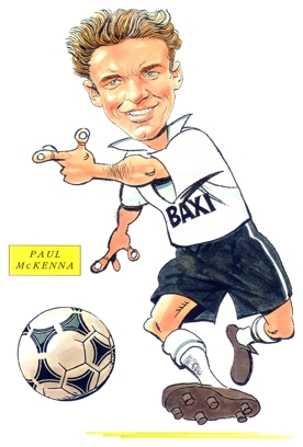 Paul Mckenna Caricature