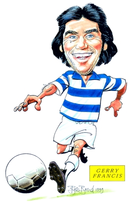 Gerry Francis Caricature