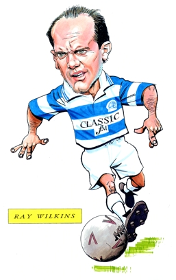 Ray Wilkins Caricature