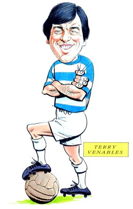Terry Venables Caricature