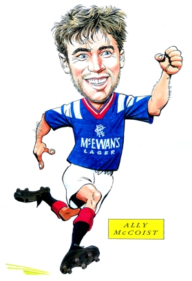 Ally McCoist Caricature