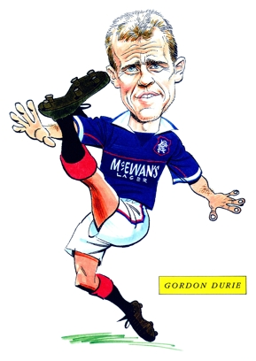 Gordon Durie Caricature