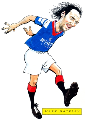 Mark Hateley Caricature