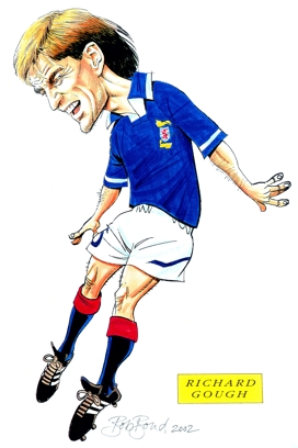 Richard Gough Caricature