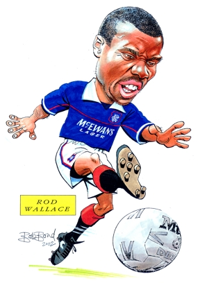 Rob Wallace Caricature