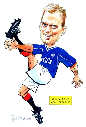 Ronald De Boer Caricature