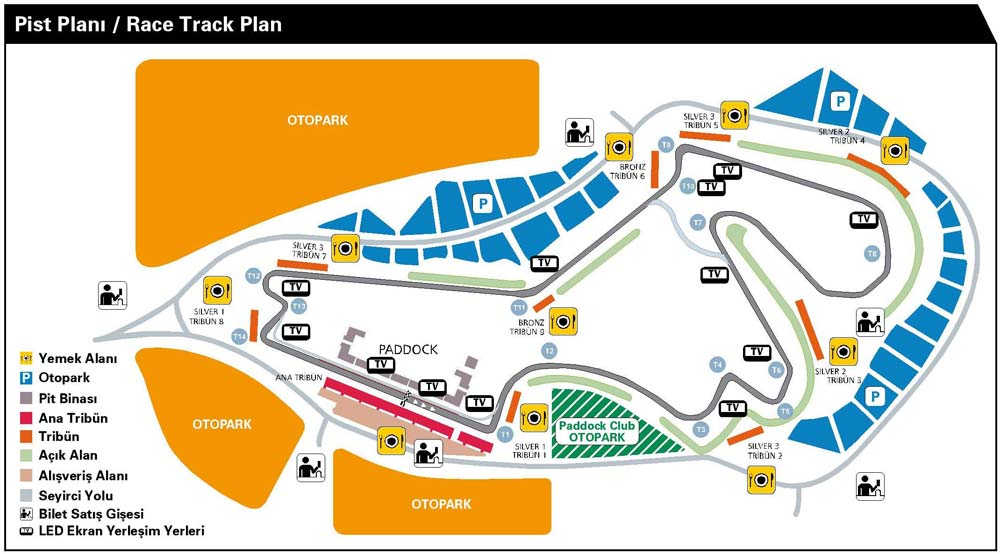 istanbul park track plan