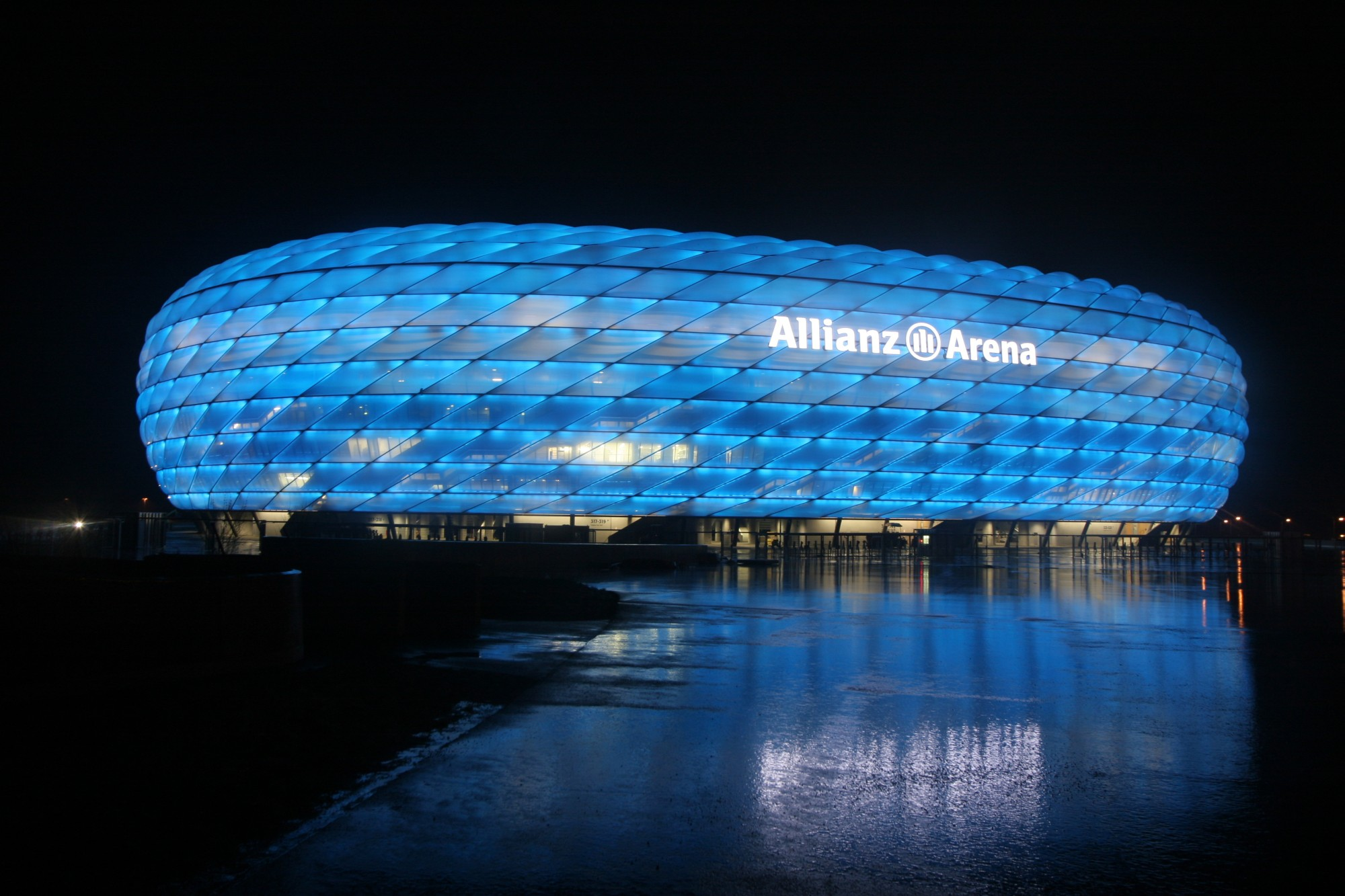Allianz Arena Bayern Munih