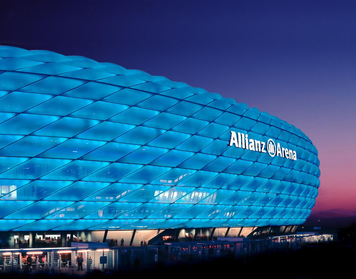 Imagenes del estadio allianz arena taringa for Estadio arena