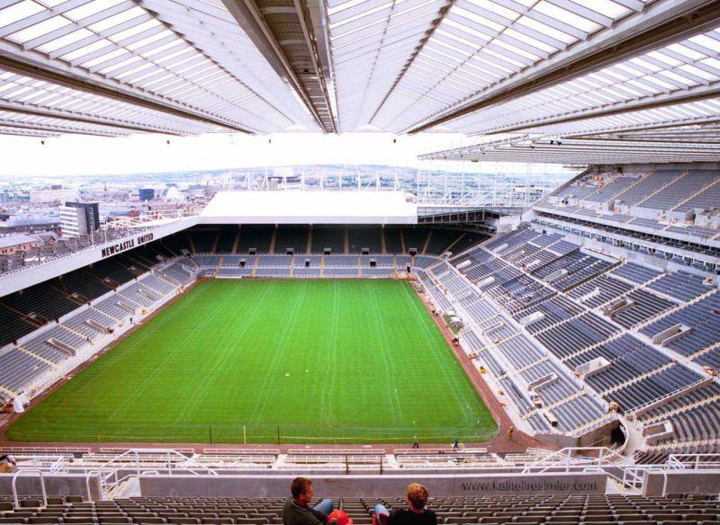 Newcastle United St James Park Stadium