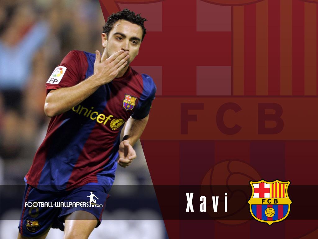Liga Virtual Xavi-Wallpaper