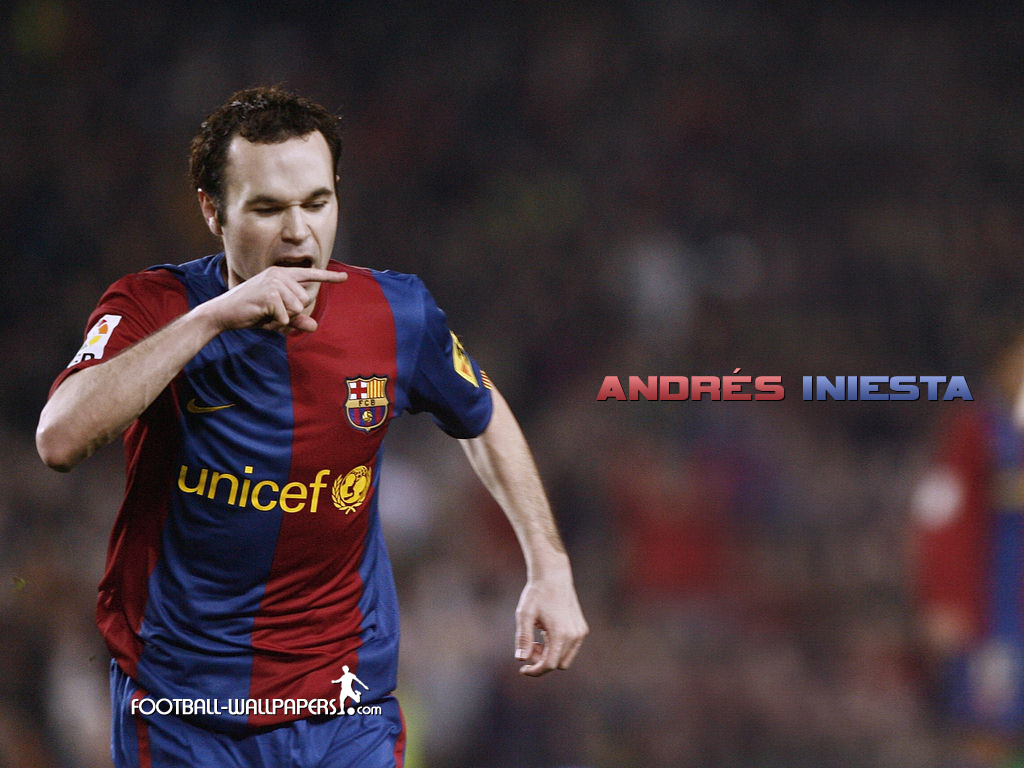 İniesta Wallpaper
