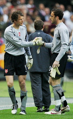 Manuel Almunia And Lehmann