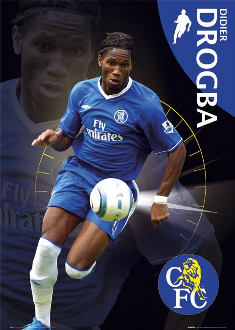 photo poster wallpaper. Drogba Poster photo or wallpaper