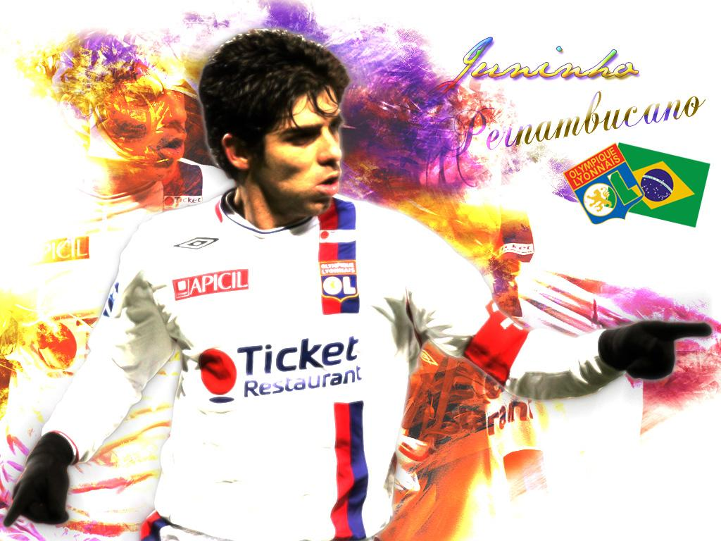 Juninho Olimpique Lyon Wallpaper