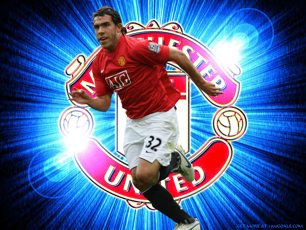 Carlos Tevez for Manchester United