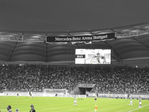 Mercedes benz arena stades pic picture mercedes benz for Mercedes benz football