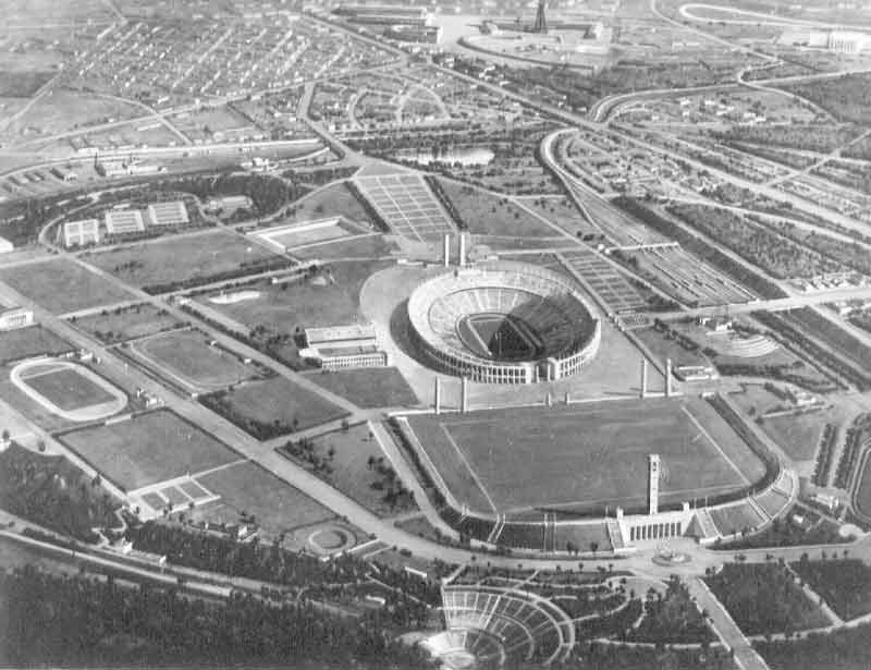 Olympiastadion Berlin Old Pictures