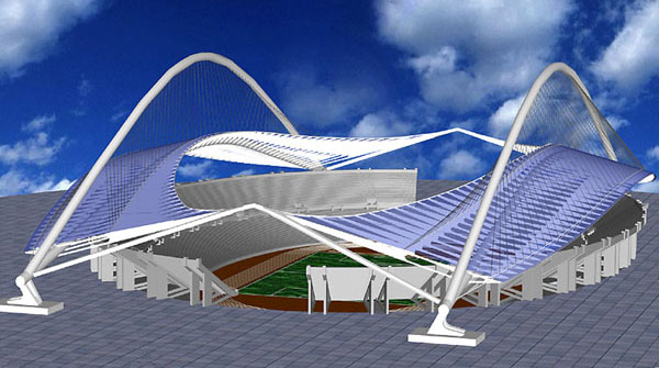 Athens Olympic Stadium Macket