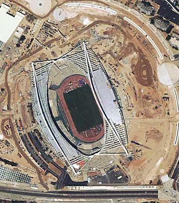 Athens Olympic Stadium Maps