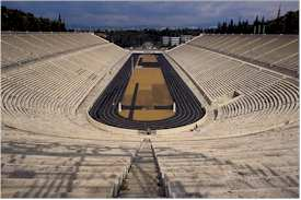 Athens Olympic Stadium Old Pic