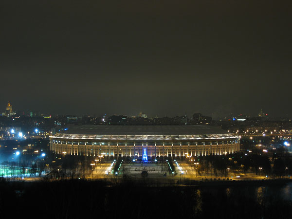 Luzhniki Stadion Night Day