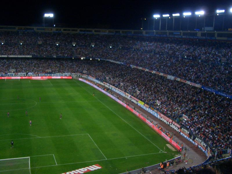 Vicente Calderón Playing Matches