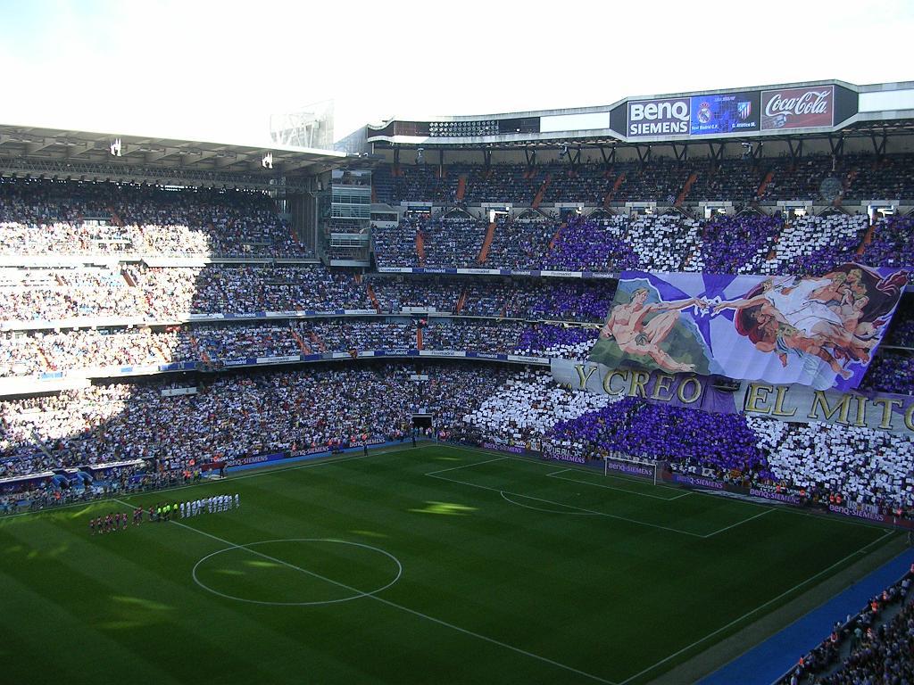 Santiago Bernabeu Matches Picture